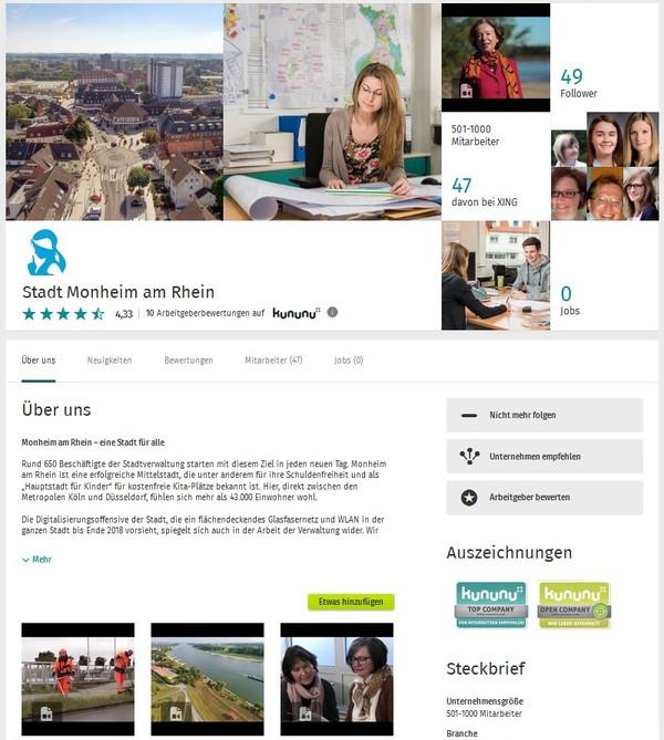 Ausbildung Stellen Stadt Monheim Am Rhein